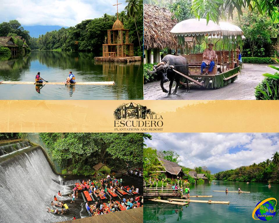 Villa Escudero Day Tour A Whole New World Travel Express